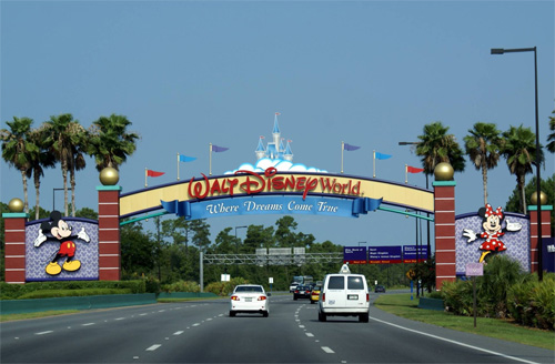Disney World's Gates