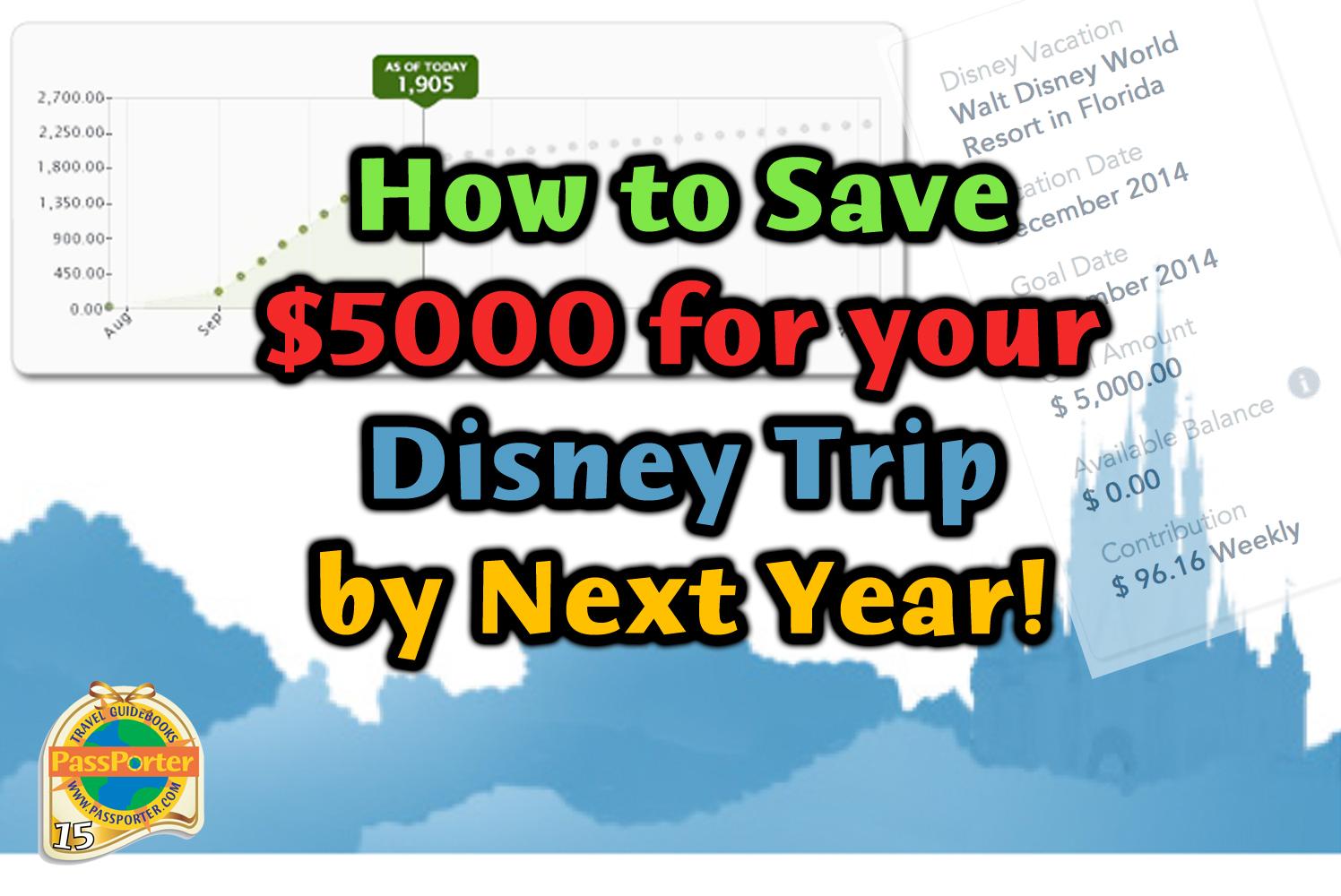 Save Money For Disney