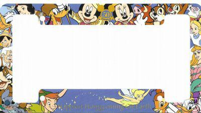 have you seen this license plate frameupdate 1129 late passporter a community of walt disney world disneyland disney cruise line - Disney Picture Frames